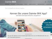 Daimler BKK Gewinnspiel Apple iPAd mini