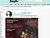 Douglas Gewinnspiele Eyeshadow Palette Tester 2018