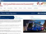 FIFA Gewinnspiel Reise Fussball-Weltmeisterschaft 2018