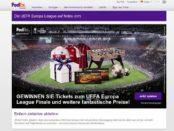 FedEx UEFA Europa Finale Tickets Gewinnspiel