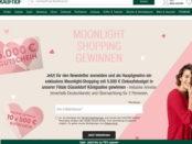 Galeria Kaufhof Gewinnspiel 5.000 Euro Moonlight Shopping 2018