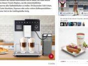 Glamour Gewinnspiel Melitta Kaffeevollautomat 2018