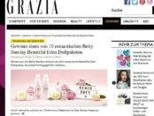 Grazia Magazin Gewinnspiel Betty Barclay Duftpakete
