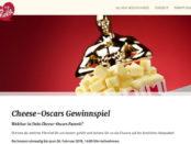 Ich liebe Käse Gewinnspiel Chees Oscar 2018