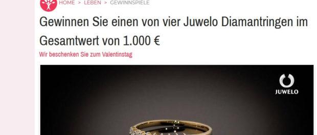 Diamantringe Gewinnspiel Idee Für Mich Magazin
