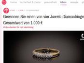 Idee für mich Gewinnspiel Juwelo Diamantringe 2018