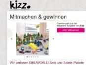 Kizz Magazin Gewinnspiel Sikuworld Spiele-Pakete