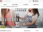 Koch Mit Gewinnspiel Smoothie Maker