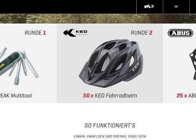 Kreidler Gewinnspiel 2018 Fahrradhelme und Werkzeug