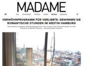 Madame Gewinnspiel Hambur Wochenende 2018