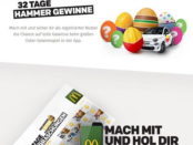 McDonalds Oster-Gewinnspiel Auto gewinnen