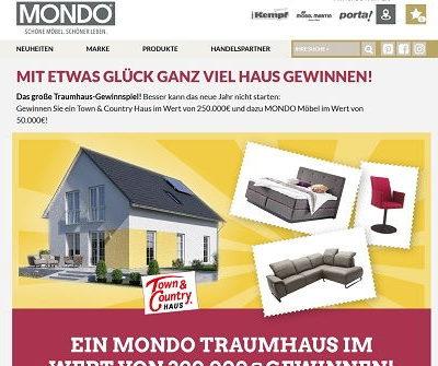 Mondo Haus Gewinnspiel 2018