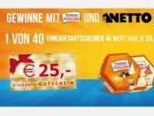 Netto Gewinnspiel Ferrero Küsschen Einkaufsgutscheine 2018