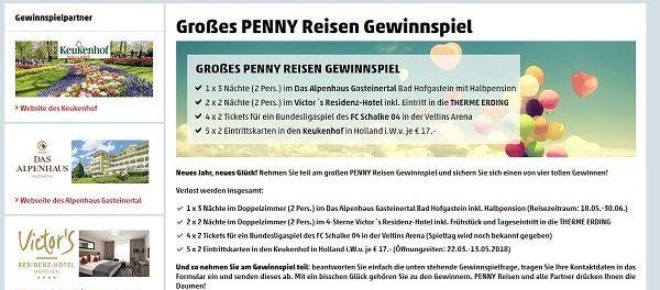 www penny gewinnspiel de