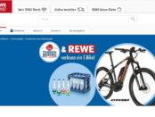 REWE Gewinnspiel Franken Brunnen E-Bike