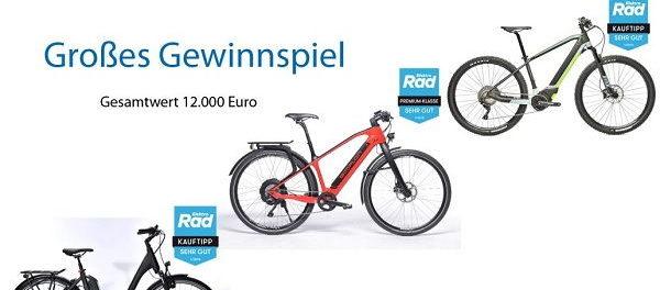Radfahren.de E-Bike Gewinnspiel 2018