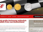 Rosland Gewinnspiel Formel 1 Hockenheim Tickets und Silbermünzen
