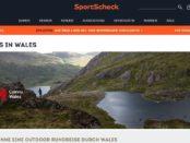 SportScheck Wales Outdoor Reise Gewinnspiel