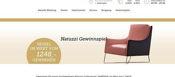 dodenhof Gewinnspiel Natuzzi Sessel 2018