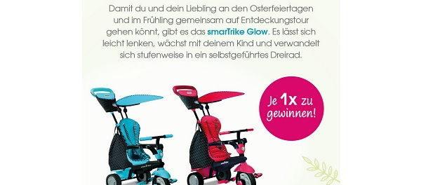 Babymarkt Gewinnspiel Kinder Dreirad 2018