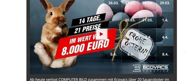 Computer Bild Osterkalender Gewinnspiel 2018