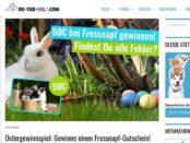 Die Tier Welt Oster Gewinnspiel Fressnapf Gutschein