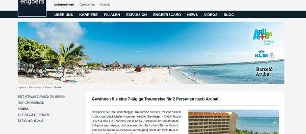 Engbers Reise Gewinnspiel Karibik Inselurlaub