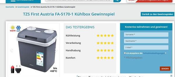 Experten Beraten Gewinnspiel Kühlbox 2018