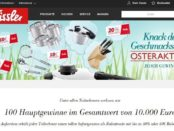 Fissler Oster-Gewinnspiel Knack den Tresor 2018