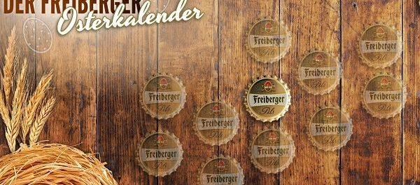Freiberger Pils Osterkalender Gewinnspiel 2018