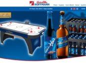 Getränke Hoffmann Gewinnspiel Frankenheimer Airhockey Tische