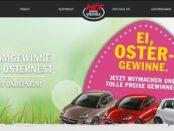 HIT Oster-Gewinnspiel 2018 Opel Adam und Smart