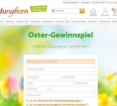 Jungborn Oster-Gewinnspiel 2018