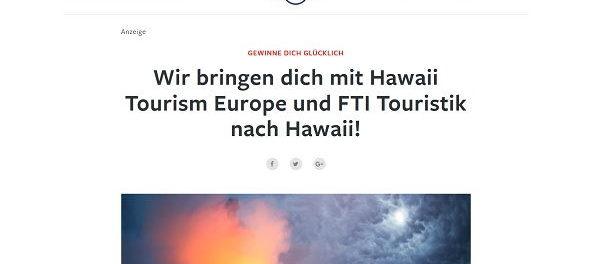 Lonely Planet Hawaii Reise Gewinnspiel