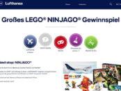 Lufthansa Gewinnspiel Lego Ninjago Billund Flugreise