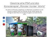 Mädchen.de Gewinnspiel Sony Playstation 4 Monster Hunter World