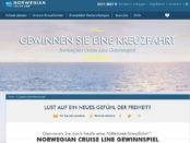 Norwegian Cruise Line Kreuzfahrt Reise Gewinnspiel 2018