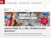 REWE Gewinnspiel Payback Millionär 2018