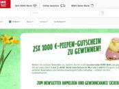 REWE Oster-Gewinnspiel 25 mal 1.000 Euro Gutschein