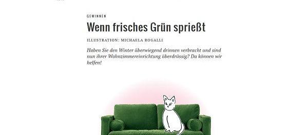 Süddeutsche Zeitung Gewinnspiel Designer Sofa 2018