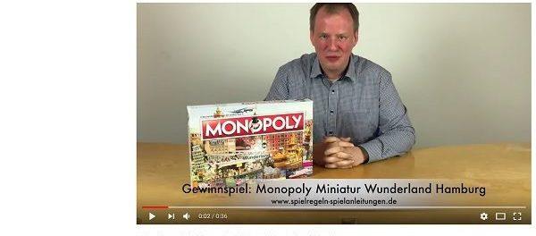 Spielregeln-Spielanleitungen.de Gewinnspiel Monoply Miniatur Wunderland