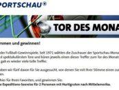 Sportschau Tor des Monats Gewinnspiel Mittelamerika Kreuzfahrt