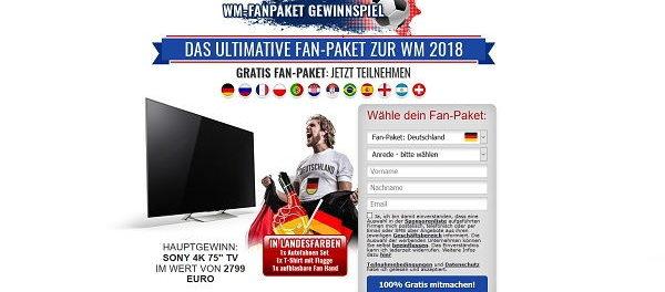 WM Fan-Paket Gewinnspiel 2018