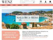 Wenz Gewinnspiel Mallorca Reise oder Bargeld 2018