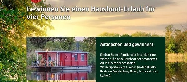 Wernesgrüner Hausboot Urlaub Gewinnspiel 2018
