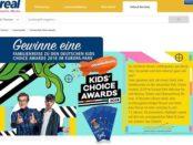 real Gewinnspiel Kids Choice Award 2018 Europa Park