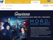 real Gewinnspiel Mord im Orient Express Paris Reise