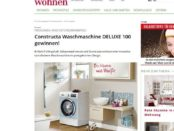 zuhause wohnen Waschmaschinen Gewinnspiel Constructa 2018