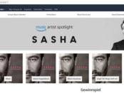 Amazon Gewinnspiel Golden Ticket Sasha Konzerte