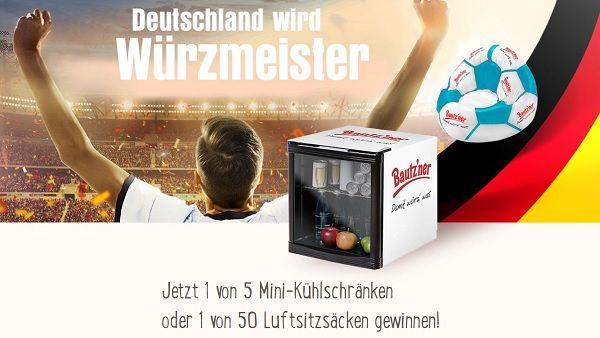 Aldi Gewinnspiel Kühlschrank : Bautzner gewinnspiel deutschland wird würzmeister
